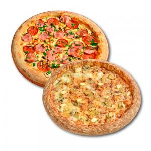 Пицца Феличита 35 см. + пицца 4 Сыра 30 см. в подарок